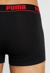 Puma - BASIC SHORTBOXER 2 PACK - Underkläder - red/black - 2