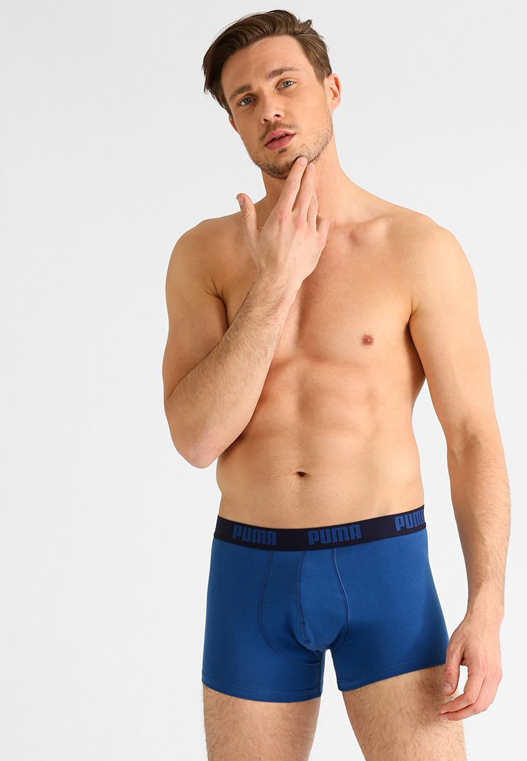Puma - BASIC SHORTBOXER 2 PACK - Underkläder - true blue