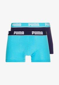 Puma - BASIC SHORTBOXER 2 PACK - Underkläder - aqua/blue - 3