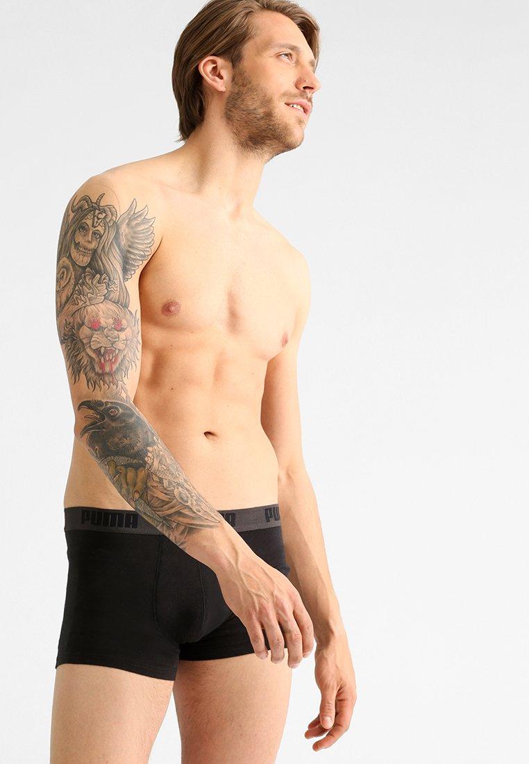 Puma - BASIC SHORTBOXER 2 PACK - Panties - black