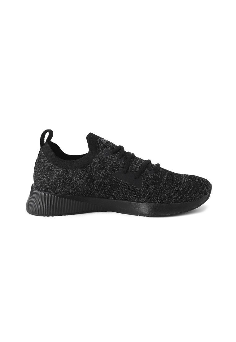 Puma PUMA FLYER RUNNER ENGINEERED KNIT MEN'S RUNNING SHOES MALE - Trainers - puma black-asphalt