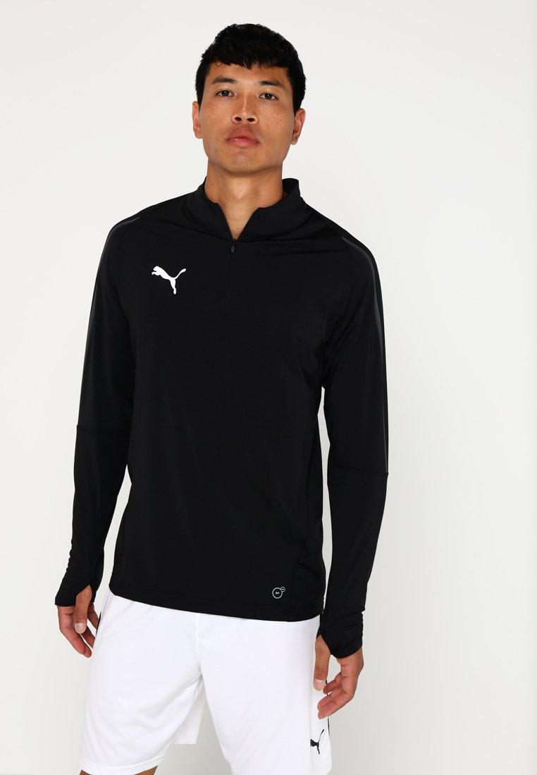 Puma - FINAL TRAINING ZIP  - Sweatshirt - puma black/asphalt