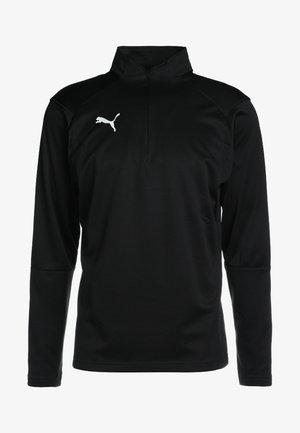 LIGA TRAINING ZIP - Treningsskjorter - black/white