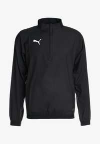 Puma - LIGA TRAINING - Veste coupe-vent - black/white - 3