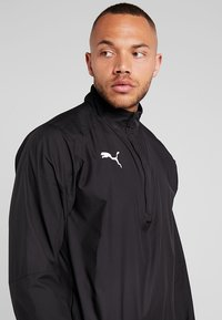 Puma - LIGA TRAINING - Veste coupe-vent - black/white - 4