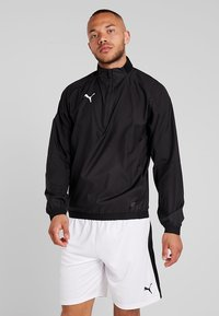 Puma - LIGA TRAINING - Veste coupe-vent - black/white - 0