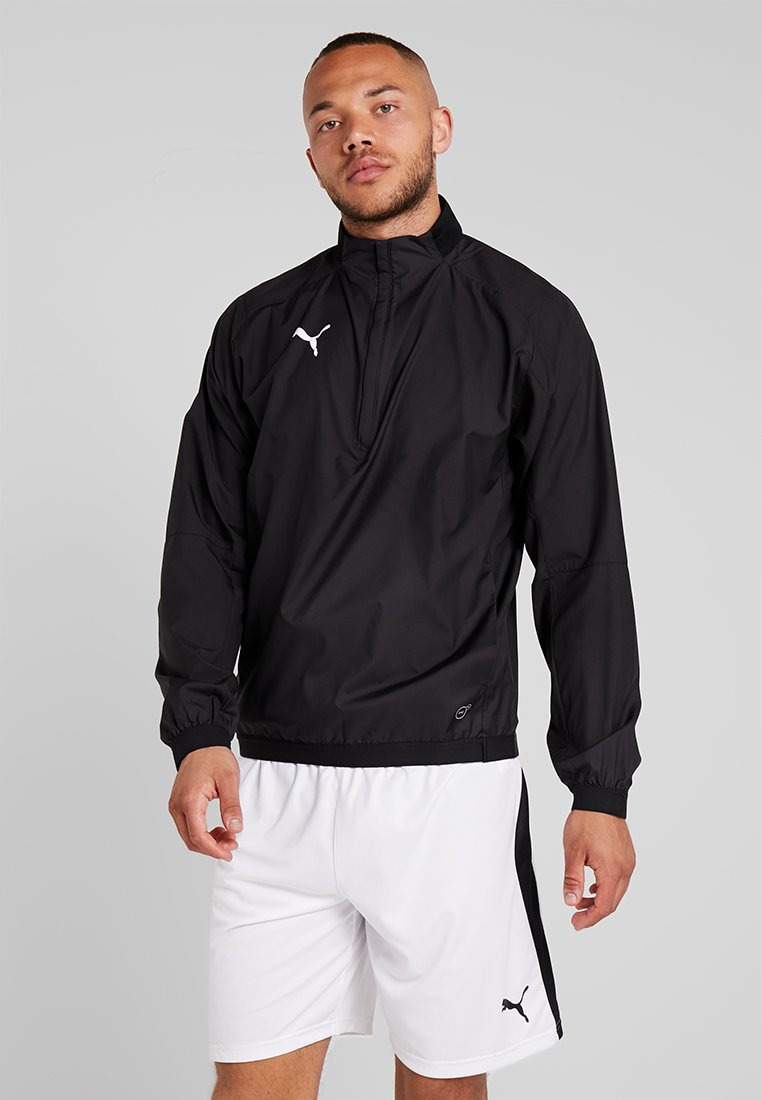 Puma - LIGA TRAINING - Veste coupe-vent - black/white