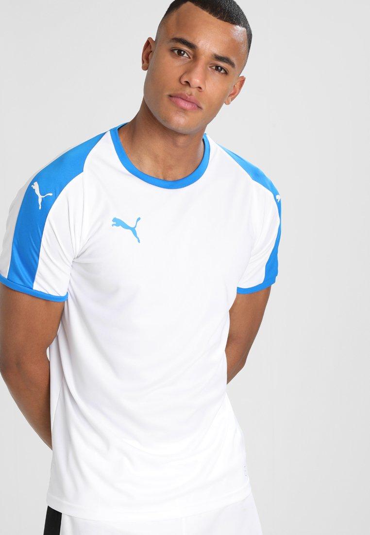 Puma - LIGA  - Strój drużynowy - white/electric blue
