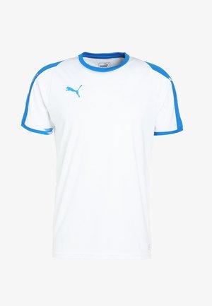 LIGA  - Pelipaita - white/electric blue