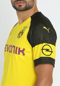 Puma - BVB BORUSSIA DORTMUND HOME  - Article de supporter - cyber yellow / puma black - 3