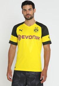 Puma - BVB BORUSSIA DORTMUND HOME  - Article de supporter - cyber yellow / puma black - 0