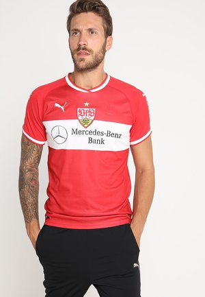 VFB STUTTGART AWAY REPLICA  - Vereinsmannschaften - ribbon red/white