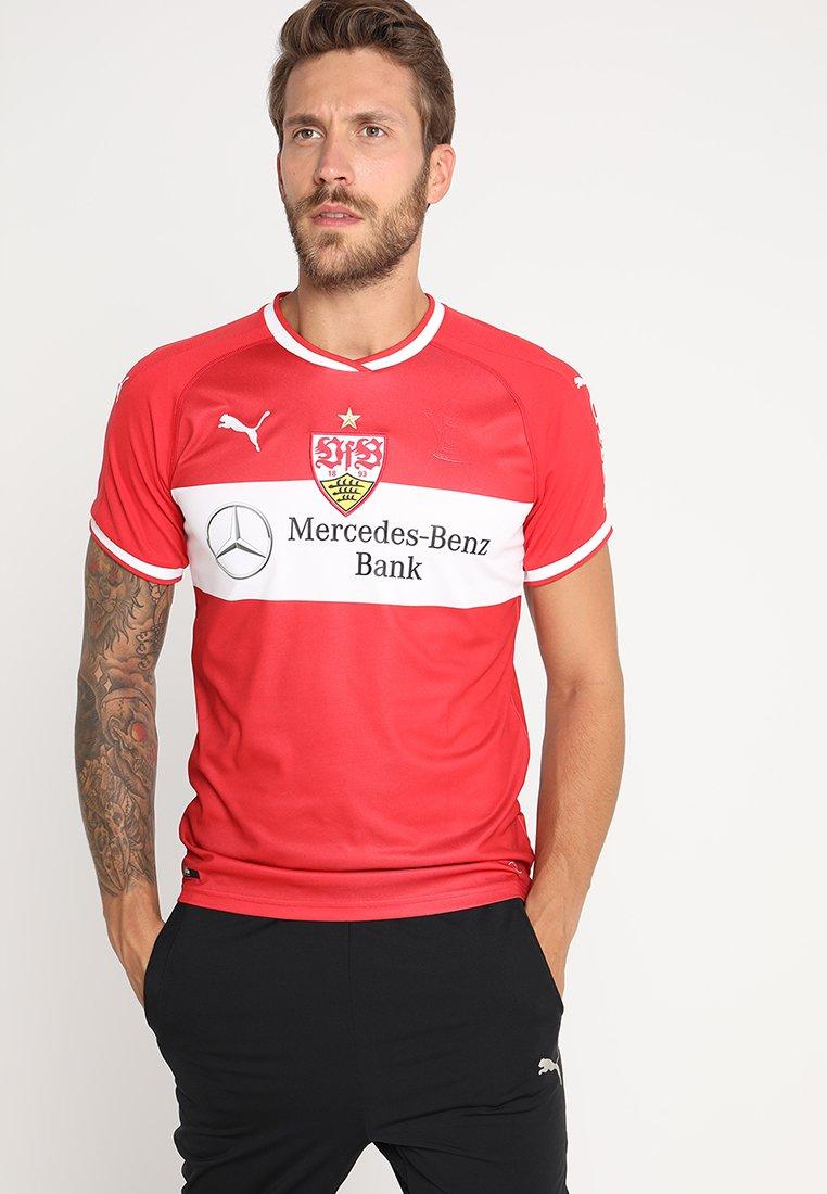 Puma - VFB STUTTGART AWAY REPLICA  - Vereinsmannschaften - ribbon red/white