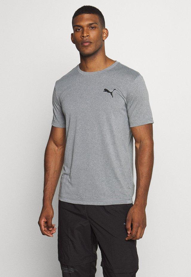 ACTIVE TEE - Basic T-shirt - medium gray heather