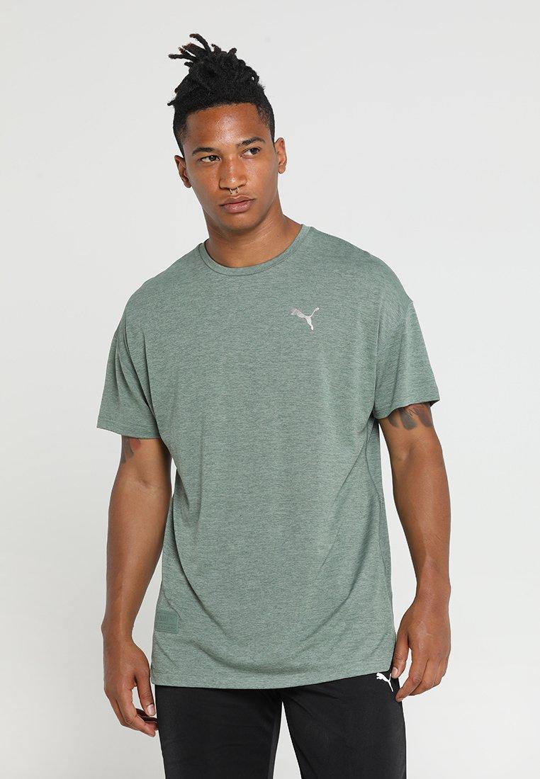 Puma - ENERGY TEE - T-Shirt basic - laurel wreath heather