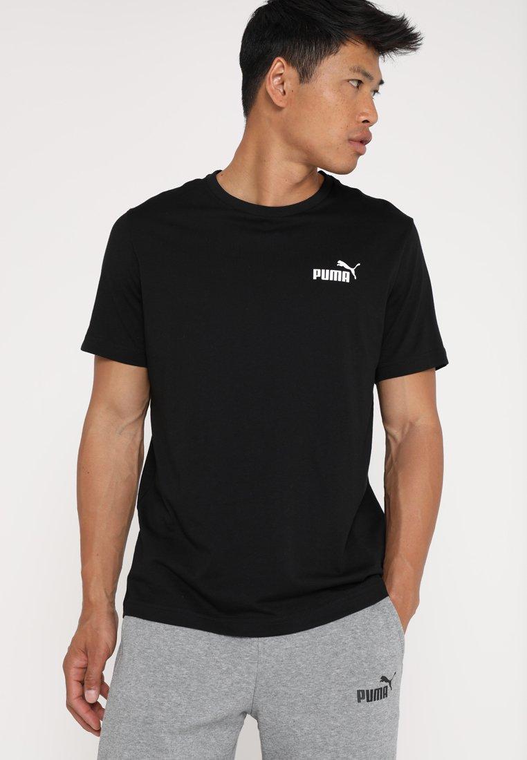 Puma - SMALL LOGO TEE - T-shirt print - black