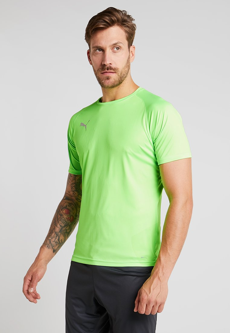 Puma - FTBLNXT - T-Shirt print - green gecko/ebony