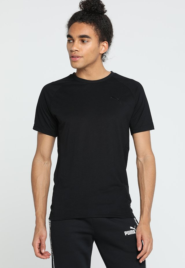 EVOSTRIPE MOVE TEE - T-Shirt basic - black
