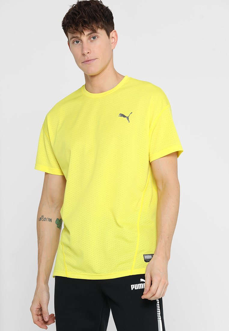 Puma - TEE - T-Shirt print - blazing yellow