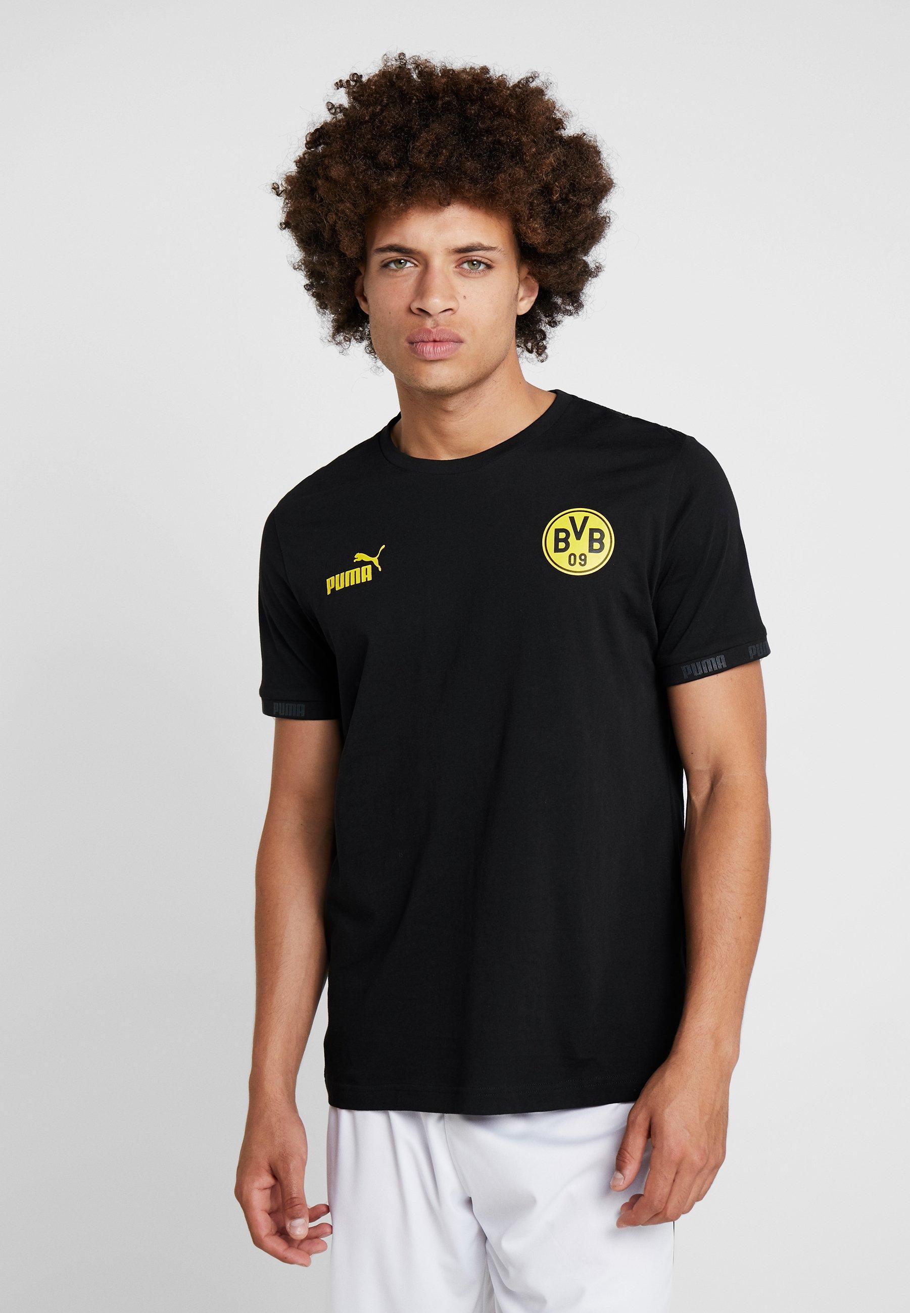 Borussia Bvb Culture Supporter De Puma TeeArticle Dortmund Black MUSqpVz