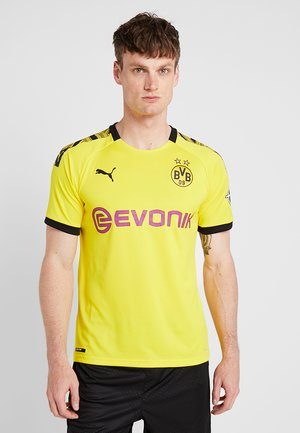BVB BORUSSIA DORTMUND HOME REPLICA WITH EVONIK LOGO - Article de supporter - cyber yellow/black