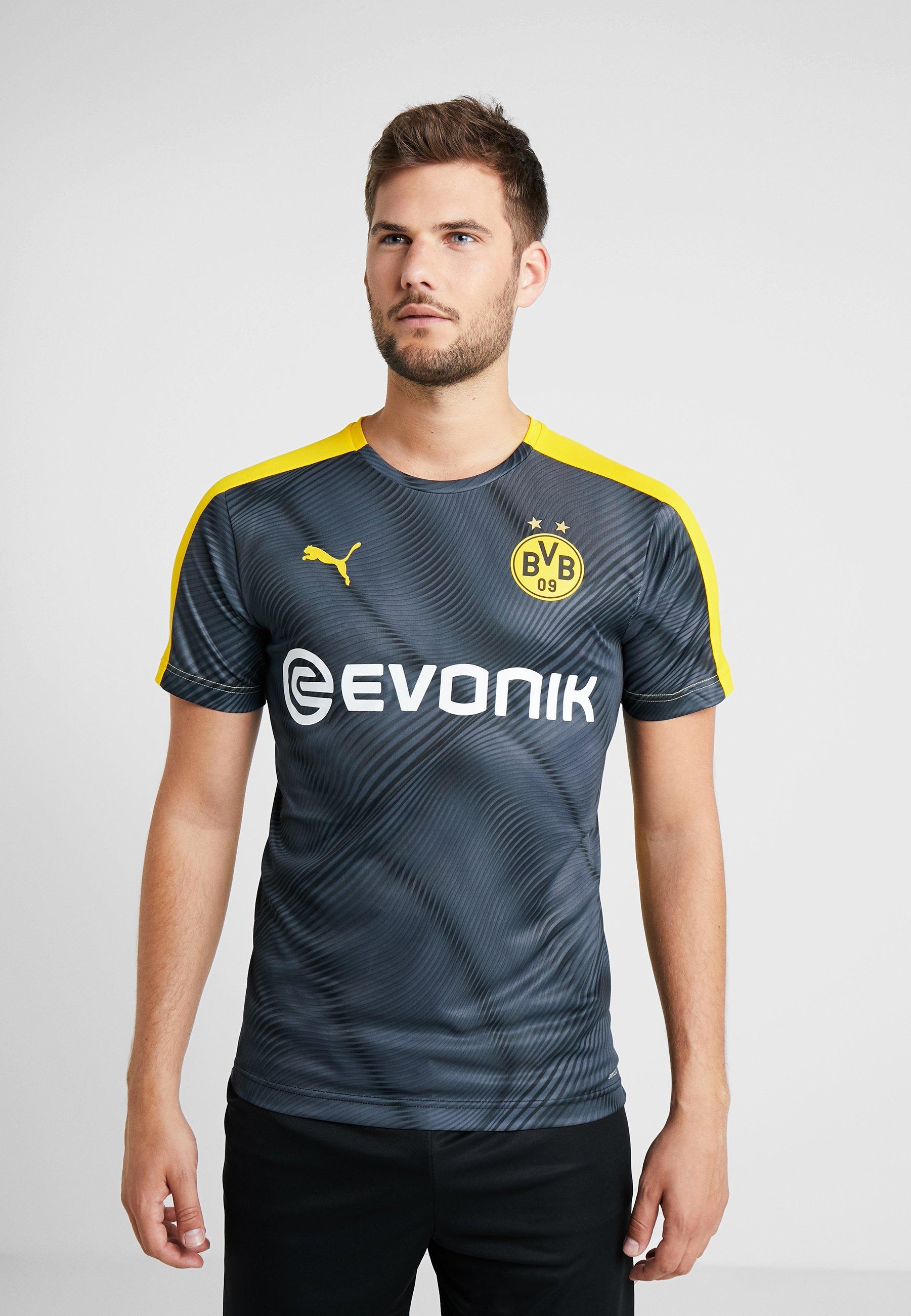 Puma Cyber Borussia Stadium De EvonikArticle Yellow Supporter black Dortmund Bvb League With HD92IWEY