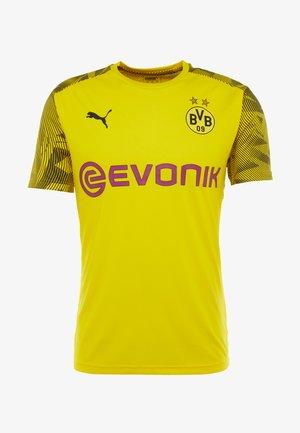 BVB BORUSSIA DORTMUND TRAINING WITH EVONIK LOGO - Klubbkläder - cyber yellow/puma black