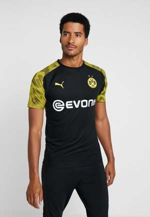 BVB BORUSSIA DORTMUND TRAINING WITH EVONIK LOGO - Vereinsmannschaften - puma black/cyber yellow