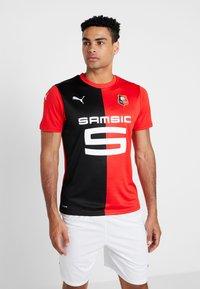 Puma - STADE RENNES FC HOME  - Artykuły klubowe - puma red/puma black - 0