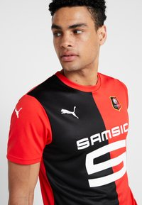 Puma - STADE RENNES FC HOME  - Artykuły klubowe - puma red/puma black - 3