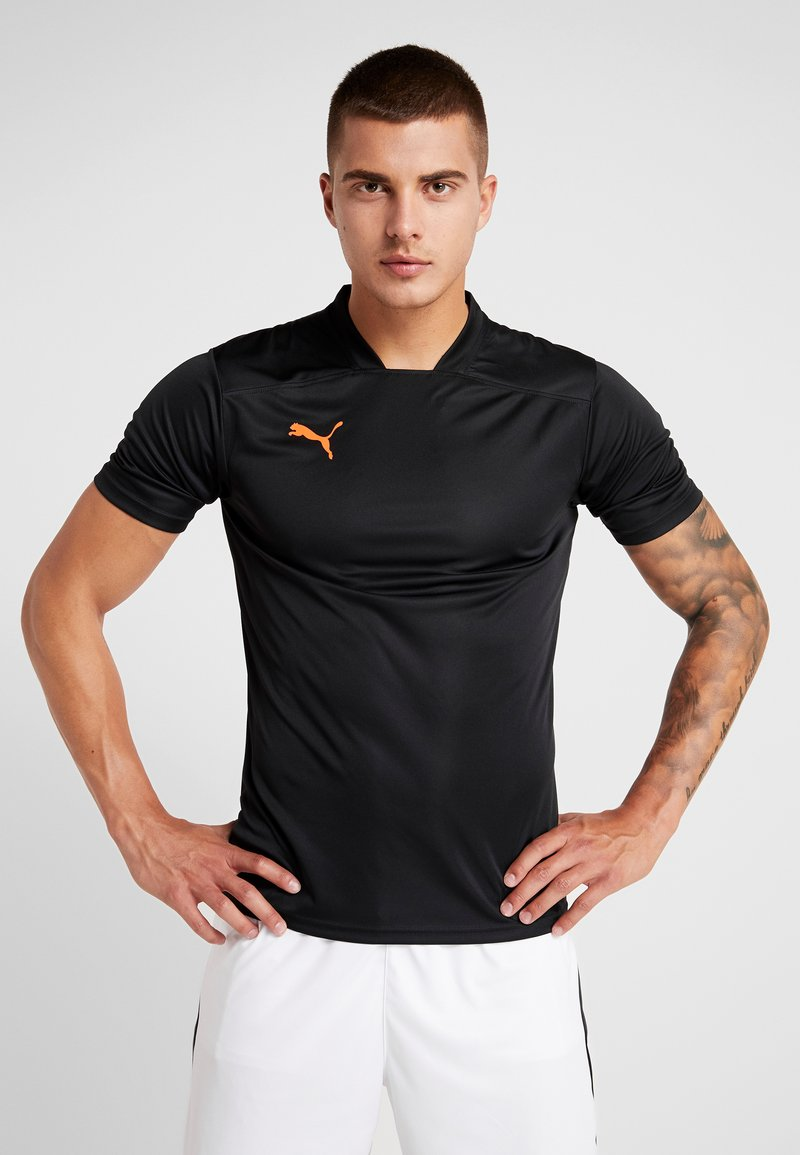 Puma - Print T-shirt - black/red
