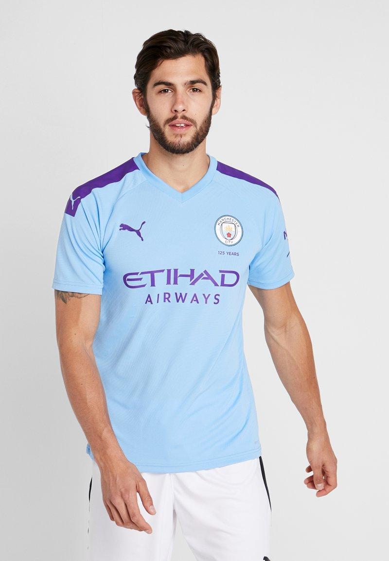 Puma - MANCHESTER CITY HOME REPLICA WITH SPONSOR LOGO - Equipación de clubes - team light blue/tillandsia purple