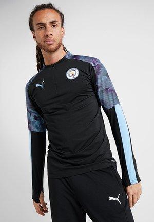 MANCHESTER CITY - Klubbkläder - puma black/team light blue