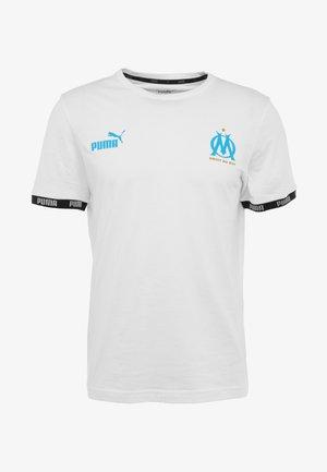OLYMPIQUE MARSEILLE CULTURE TEE - T-shirt imprimé - white