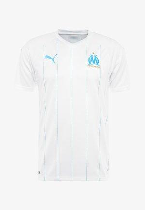 OLYMPIQUE MARSEILLE HOME REPLICA  - Club wear - white/bleu azur