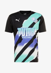 Puma - RETRO  - T-shirt print - black - 4