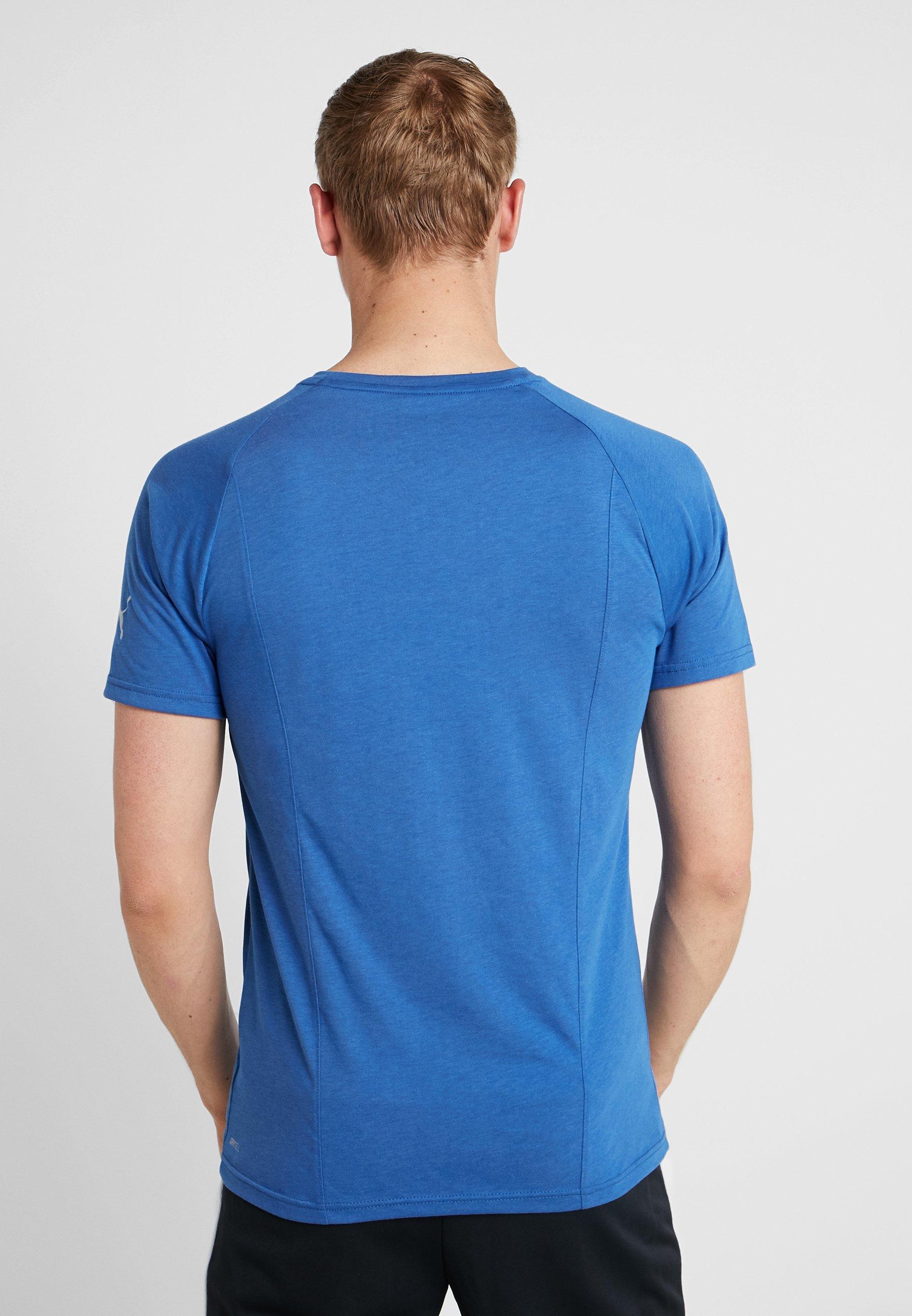 Blue Galaxy Reactive Color TeeT shirt Block Puma Imprimé kPZuXiwTO