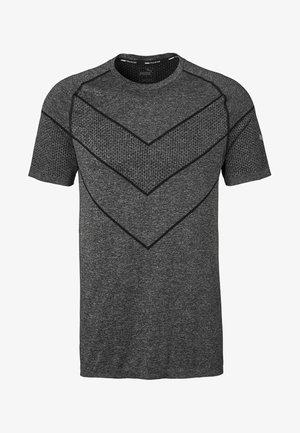 REACTIVE TEE - Print T-shirt - black