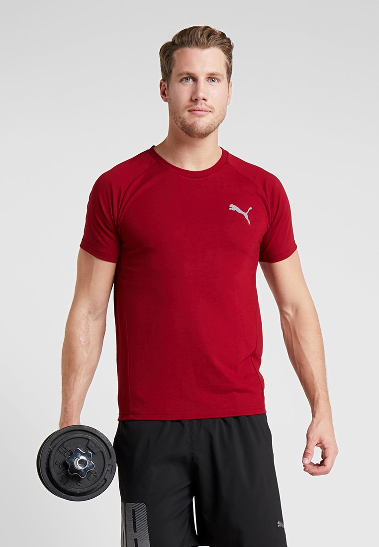 Evostripe shirt Puma TeeT Basique Rhubarb DH92IWYE