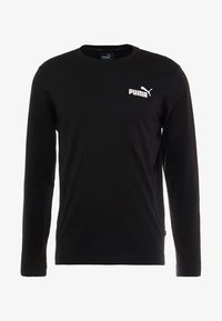 Puma - LOGO TEE - T-shirt à manches longues - black - 4