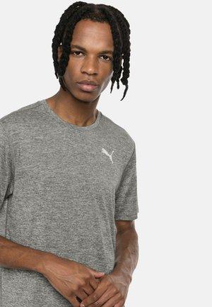IGNITE HEATHER MAND - Basic T-shirt - medium gray heather