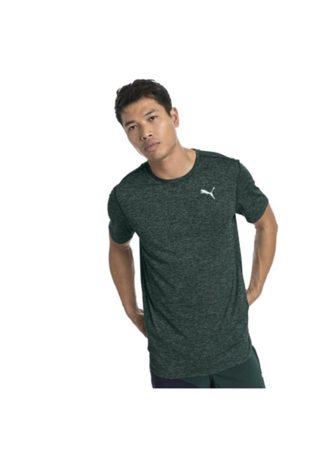 IGNITE HEATHER MAND - T-shirt basique - ponderosa pine heather