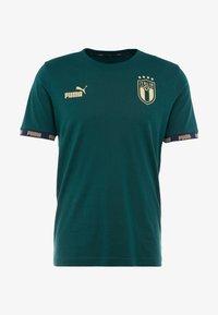 Puma - ITALIEN FIGC FTBLCULTURE TEE - Voetbalshirt - Land - ponderosa pine - 5