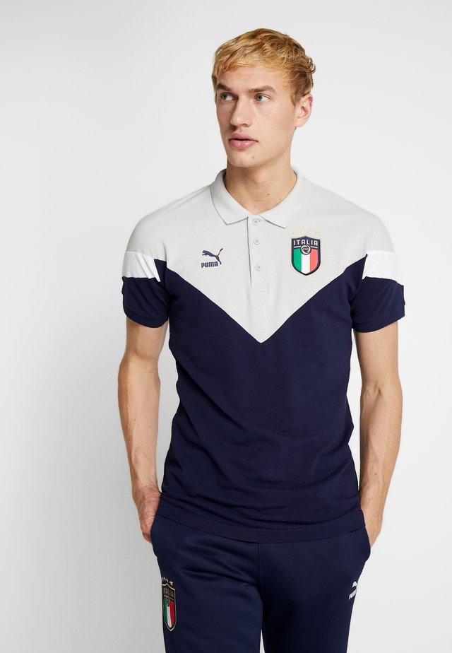 ITALIEN FIGC ICONIC MCS - Fanartikel - peacoat/gray violet