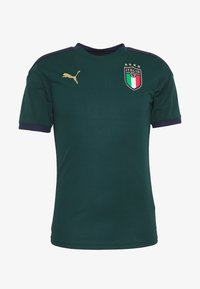 Puma - ITALIEN FIGC TRAINING SHIRT - Equipación de selecciones - ponderosa pine/peacoat - 3