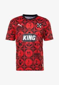 Puma - AMSTERDAM - T-shirt con stampa - red/black - 3