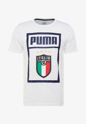 ITALIEN FIGC PUMA DNA TEE - Funktionsshirt - white