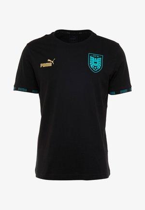 ÖSTERREICH ÖFB CULTURE TEE - Klubbkläder - black