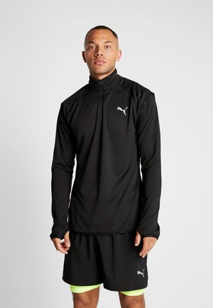 LAST LAP MIDLAYER - Camiseta de manga larga - puma black heather