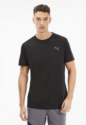 LAST LAP TEE - Basic T-shirt - dark gray heather